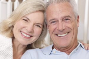 Headshot Of Mature Couple